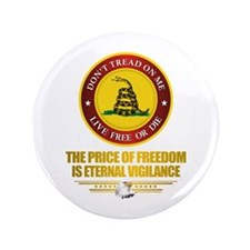 "(DTOM) The Price of Freedom 3.5"" Button (100 pack)"