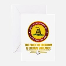 (DTOM) The Price of Freedom Greeting Cards