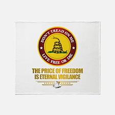 (DTOM) The Price of Freedom Throw Blanket