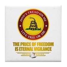 (DTOM) The Price of Freedom Tile Coaster