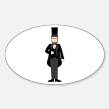 Abraham Lincoln President Decal