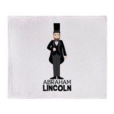 ABRAHAM LINCON Throw Blanket