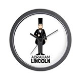 Abraham lincoln Wall Clocks