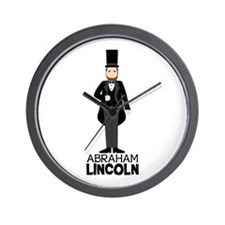 ABRAHAM LINCON Wall Clock