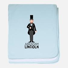 ABRAHAM LINCON baby blanket