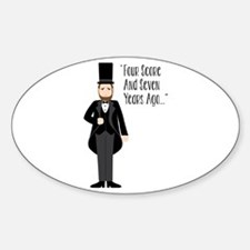 FOUR SCORE AND SEVEN YEARS AGO... Decal