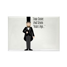 FOUR SCORE AND SEVEN YEARS AGO... Magnets