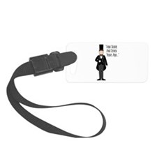 FOUR SCORE AND SEVEN YEARS AGO... Luggage Tag