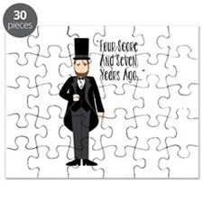 FOUR SCORE AND SEVEN YEARS AGO... Puzzle