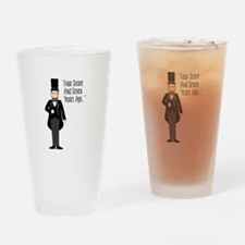 FOUR SCORE AND SEVEN YEARS AGO... Drinking Glass