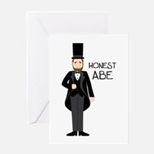 HONEST ABE Greeting Cards