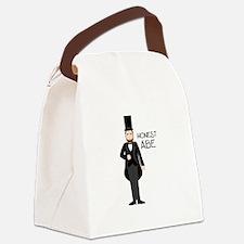 HONEST ABE Canvas Lunch Bag