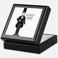 HONEST ABE Keepsake Box
