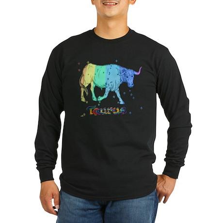 Taurus Long Sleeve Dark T-Shirt