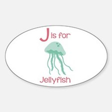 J Is For Jellyfish Decal
