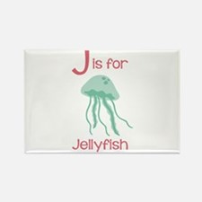 J Is For Jellyfish Magnets