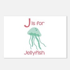 J Is For Jellyfish Postcards (Package of 8)