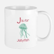J Is For Jellyfish Mugs