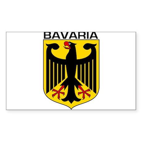 Bavaria Rectangle Sticker