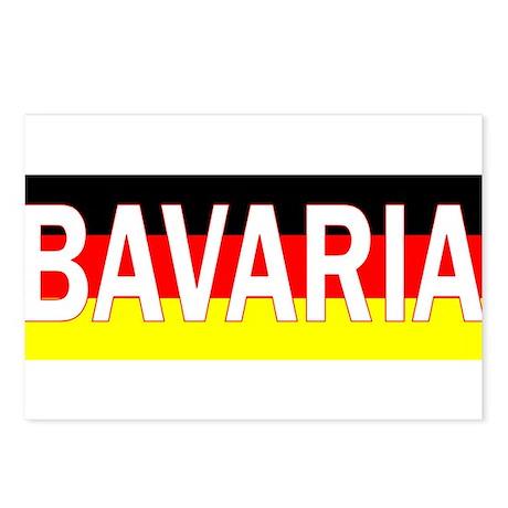 Bavaria Postcards (Package of 8)