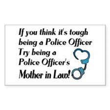Tough Mother in Law Rectangle Decal