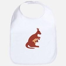 Kangaroo Animal Bib