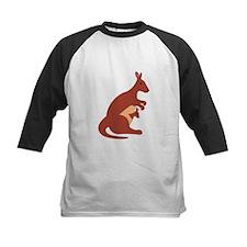 Kangaroo Animal Baseball Jersey