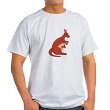 Kangaroo Animal T-Shirt