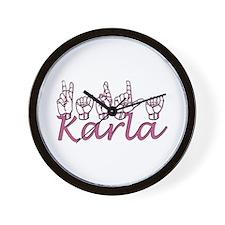 Karla Wall Clock