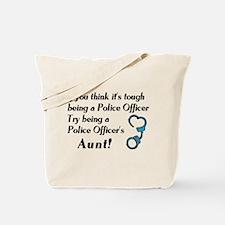 Tough Police Aunt Tote Bag