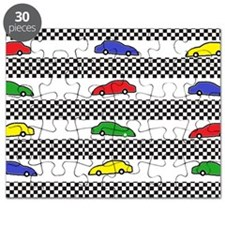 colorful racecar Puzzle