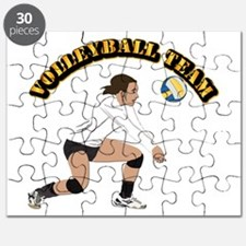 Volleyball Team Puzzle