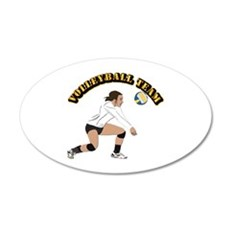 Volleyball Team Wall Decal
