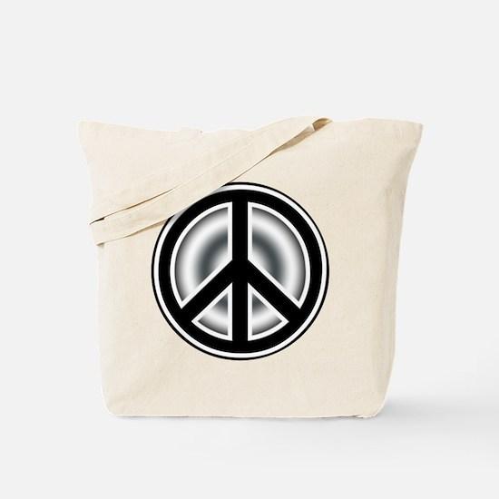 Vintage Peace symbol Tote Bag