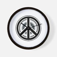 Vintage Peace symbol Wall Clock