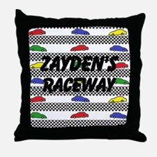 Personalize Car Image Throw Pillow