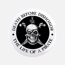 """Death Before Dishonor 3.5"""" Button"""