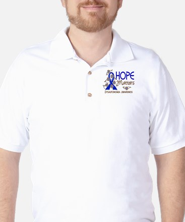 Hope Matters 3 Dysautonomia Golf Shirt