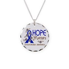 Hope Matters 3 Dysautonomia Necklace
