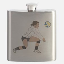 Volleyball No Text Flask