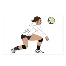 Volleyball No Text Postcards (Package of 8)