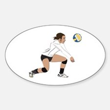 Volleyball No Text Decal