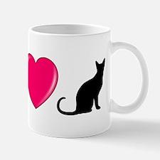 Peace Love Cats Mugs