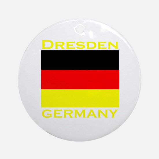 Dresden, Germany Ornament (Round)