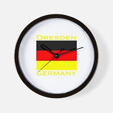 Dresden, Germany Wall Clock