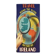 Travel Ireland Beach Towel