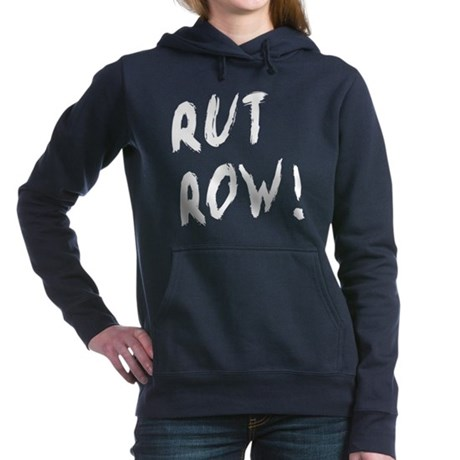 rutrow on blk Hooded Sweatshirt