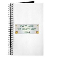 Hugged Buhund Journal