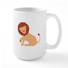 Lion Animal Mugs