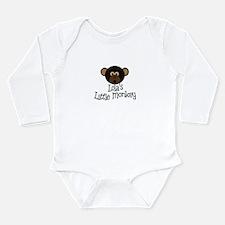 Lola's Little Monkey BOY Body Suit